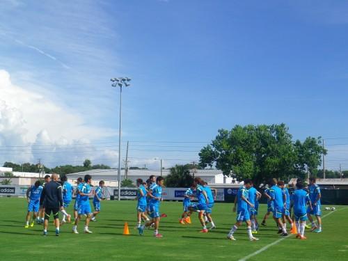 日本代表、ブラジルW杯へ向けて直前のアメリカ合宿開始