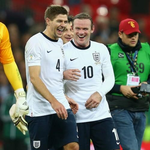 イングランド代表のW杯背番号発表…ルーニー「10」、ジェラード「4」