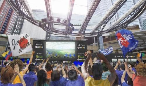 「FIFA 14」発売記念イベントが六本木で開催…シミュレーションでW杯予想