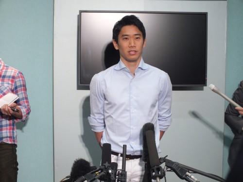 香川、大久保のW杯メンバー選出に「Jでの結果見れば誰もが納得」