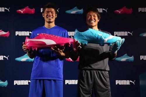 プーマが新作スパイク発表、西川周作と酒井宏樹はW杯への想いを込め本番へ