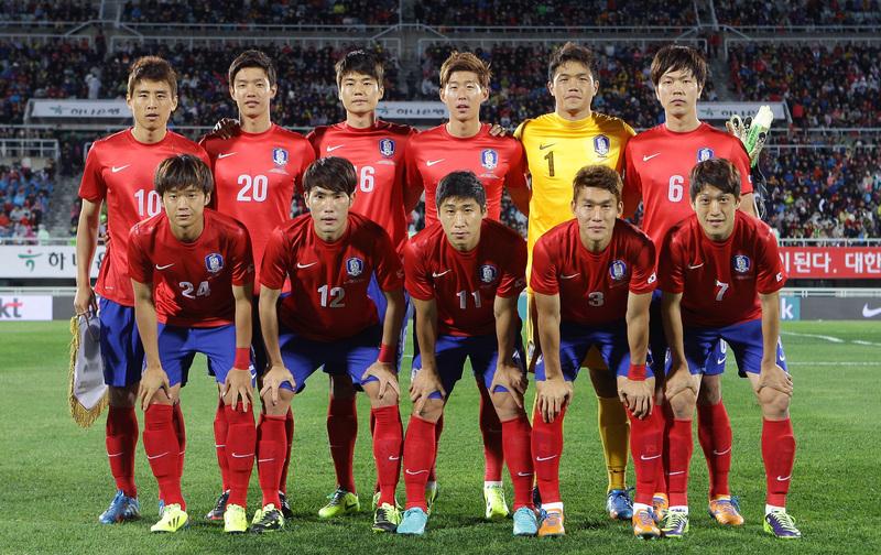ワールドカップ. 韓国代表
