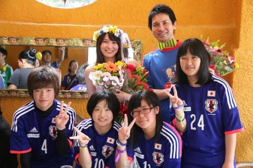 日本人サポーターがブラジルで挙式…昨年W杯出場決定の豪戦でプロポーズ
