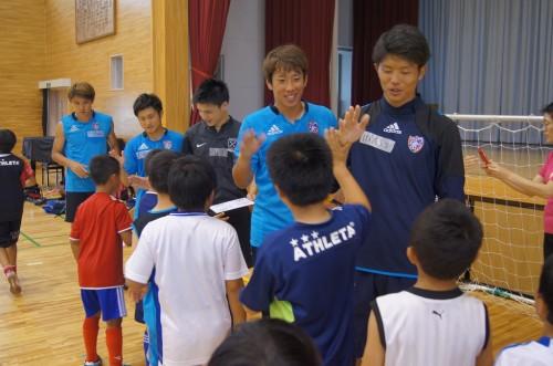 JPFAが宮城県亘理でサッカースクールを開催「元気をもらいました」