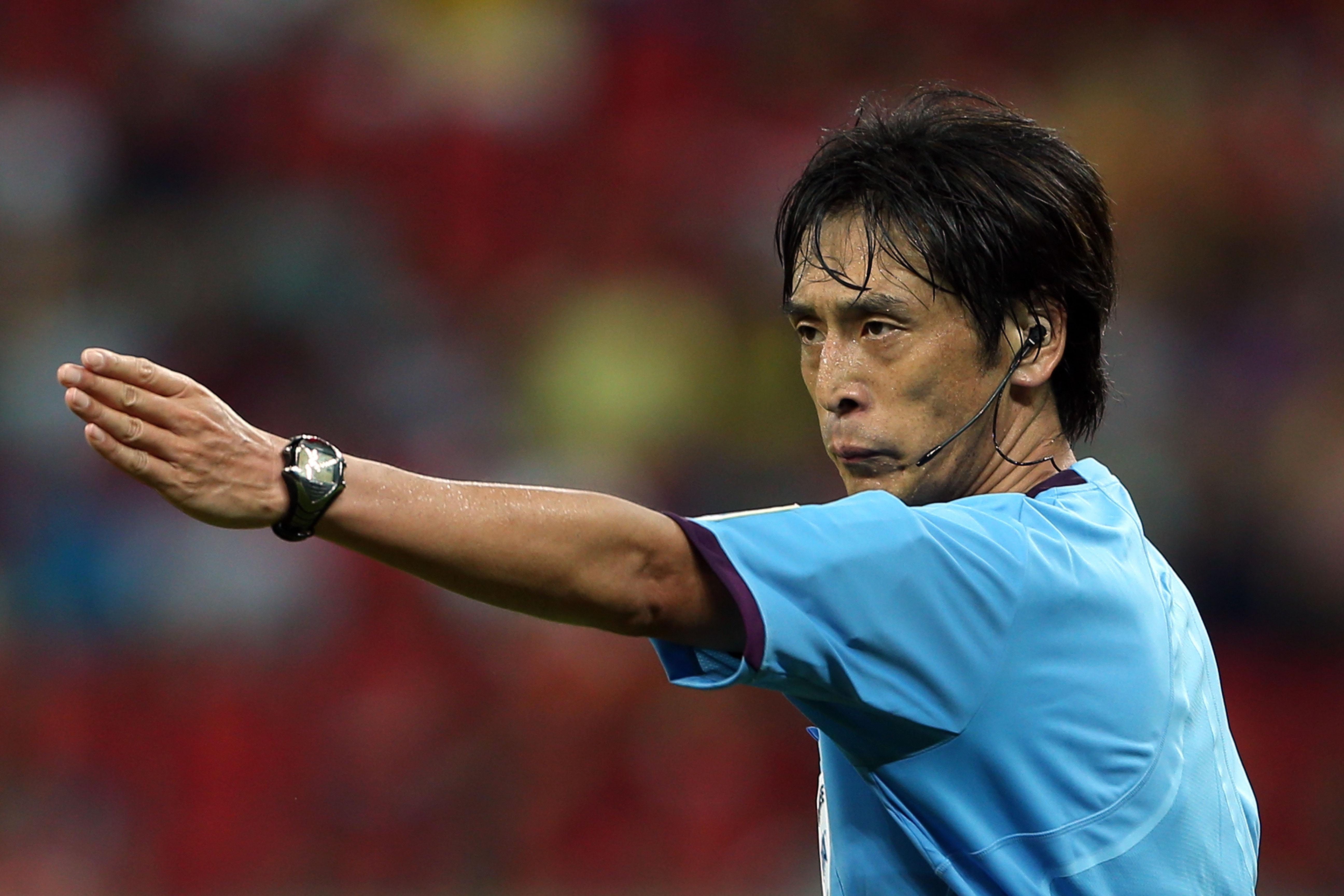 日本の西村雄一氏がW杯開幕戦ブラジル対クロアチアを担当