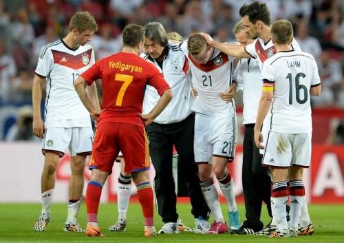後半だけで6得点、ドイツがアルメニアに大勝…ロイス負傷交代