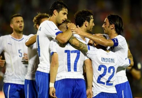 インモービレ3得点…イタリアが5発、フルミネンセとの打ち合い制す