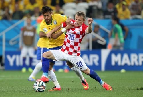 クロアチア代表MFモドリッチがブラジル戦後、足の痛みを訴え病院へ