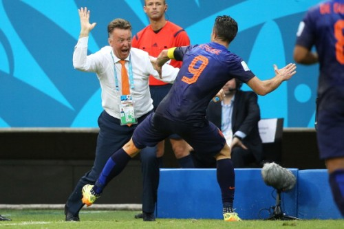 オランダ代表ファン・ハール監督「スペインを倒すために5-3-2に変更した」