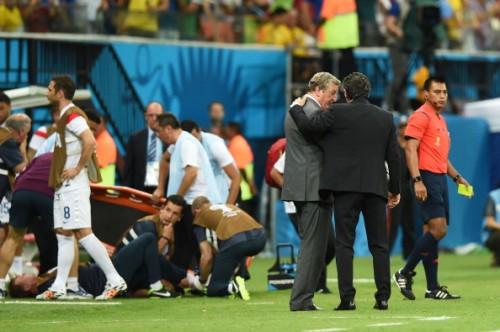 イングランド代表指揮官、フィジオの負傷に「彼のW杯は終わった」
