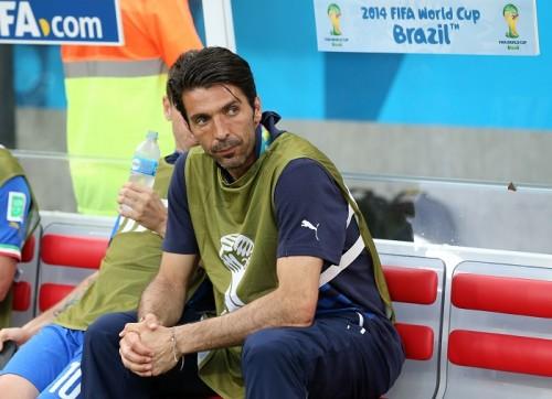 伊代表GKブッフォンが練習復帰も、コスタリカ戦は出場見合わせか