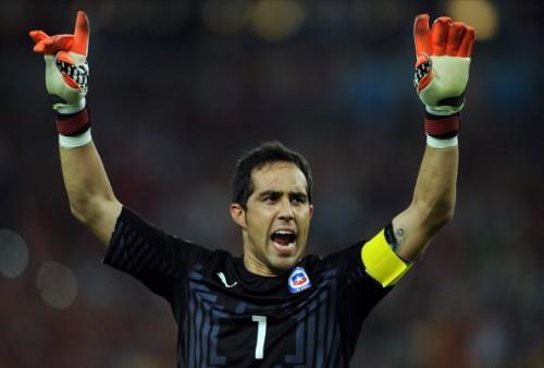 チリ代表GKブラボのバルサ移籍が正式発表…4年契約締結