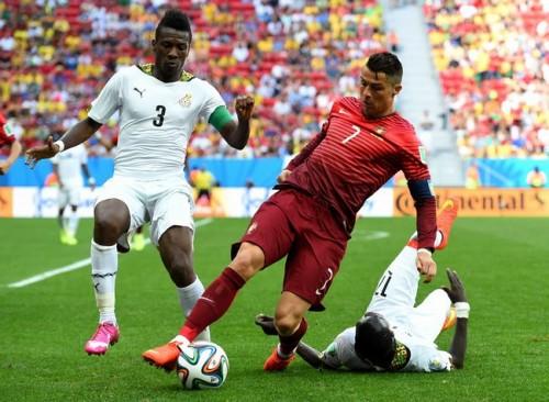 C・ロナウド決勝弾のポルトガル、ガーナ撃破もGL敗退決定