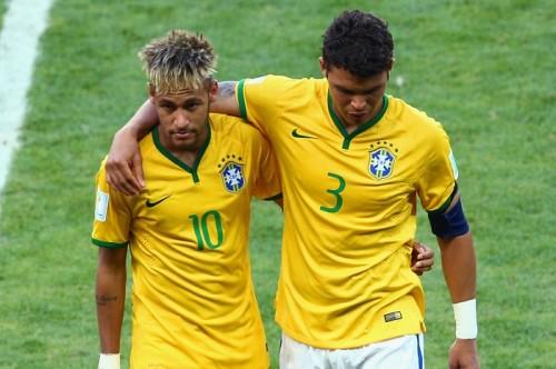 ブラジル代表T・シウヴァ「ネイマールはもうすぐメッシレベル」