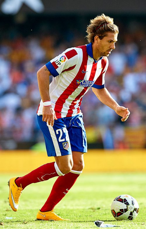 VALENCIA, SPAIN - OCTOBER 04:  Alessio Cerci of Atletico de Madrid runs with the ball during the La Liga match between Valencia CF and Club Atletico de Madrid at Estadi de Mestalla on October 4, 2014 in Valencia, Spain.  (Photo by Manuel Queimadelos Alonso/Getty Images)