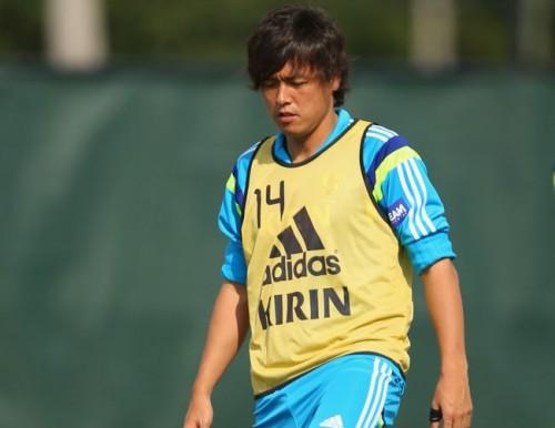 米合宿2日目の練習に臨んだ遠藤保仁「チーム力を上げていきたい」