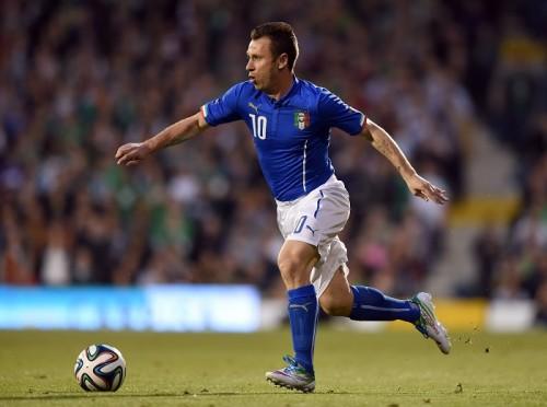 W杯イタリア代表メンバーの背番号発表…カッサーノが10番に決定