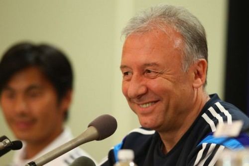 ザックが本田と香川に言及「より多くの時間で試合に出るべき」