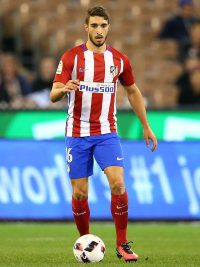 MELBOURNE, AUSTRALIA - JULY 29:  Sime Vrsaljko of Atletico de Madrid controls the ball during 2016 International Champions Cup Australia match between Tottenham Hotspur and Atletico de Madrid at the Melbourne Cricket Ground on July 29, 2016 in Melbourne, Australia.  (Photo by Scott Barbour/Getty Images)