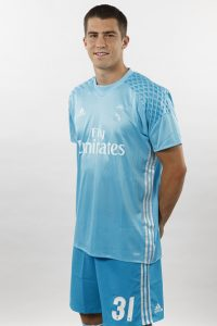 MADRID, SPAIN - AUGUST 18:  Ruben Yanez of Real Madrid poses during a portrait session at Valdebebas training ground on August 18, 2016 in Madrid, Spain.  (Photo by Angel Martinez/Real Madrid via Getty Images)