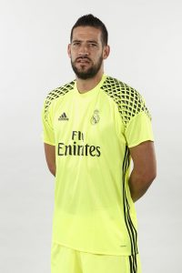 MADRID, SPAIN - AUGUST 18:  Kiko Casilla of Real Madrid poses during a portrait session at Valdebebas training ground on August 18, 2016 in Madrid, Spain.  (Photo by Angel Martinez/Real Madrid via Getty Images)