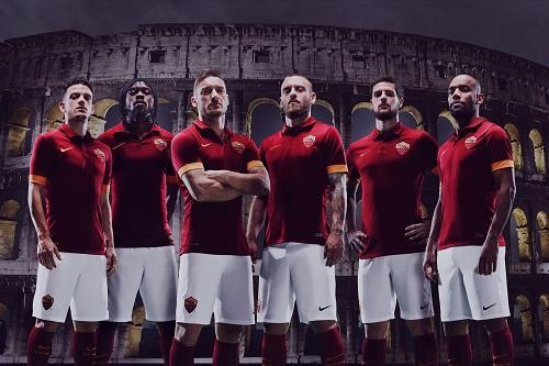 ローマがナイキとパートナーシップ締結…来季新ユニフォームを発表