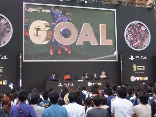 日本代表、ブラジルW杯の結果は…「FIFA 14」発売イベントで完全シミュレーション