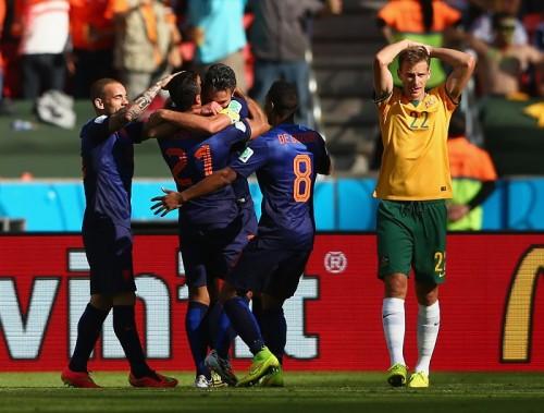 オランダ、打ち合い制して連勝で決勝Tに大きく前進…豪州は敗退濃厚に