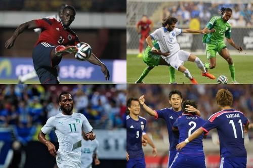 【W杯C組、登録メンバー&背番号リスト】日本、2大会連続決勝T進出なるか