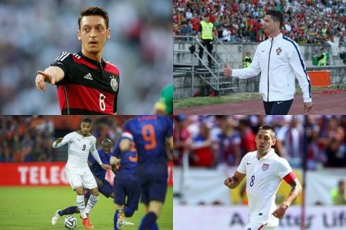 【W杯G組、登録メンバー&背番号リスト】ドイツ、ポルトガルら強豪国揃い