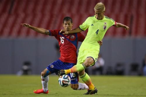コスタリカ代表DF、日本との親善試合を振り返り「勉強になった」