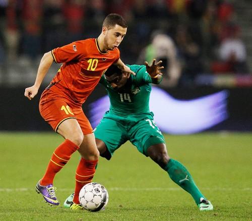 W杯への期待語るベルギー代表アザール「どれだけ戦えるか楽しみ」