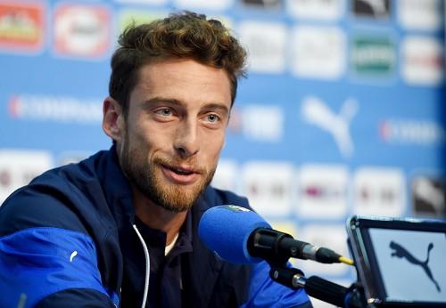 初戦のイングランド戦への手応えを見せるイタリア代表MFマルキジオ