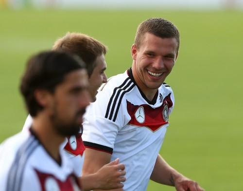 ドイツ代表MFポドルスキ、W杯初戦へ抱負「シューマッハのために」
