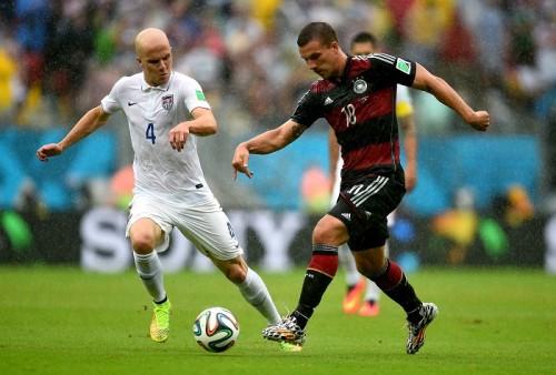 ドイツ代表FWポドルスキが負傷、W杯決勝T初戦アルジェリア戦欠場へ