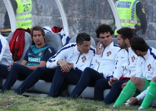 負傷でW杯出場に暗雲、C・ロナウドがメキシコとの親善試合を欠場へ
