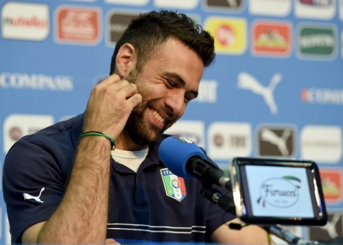 イングランド戦で好守見せたイタリア代表GKシリグ「力を発揮したい」