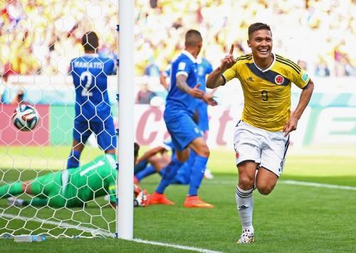 日本が入るC組初戦、コロンビアが大観衆の前でギリシャに3得点快勝