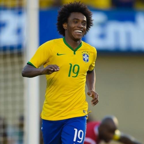 ブラジル代表MFウィリアン、母国開催のW杯出場は「本当に夢のよう」