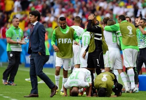 前半圧倒のアルジェリア、韓国との打ち合いを制して今大会初勝利