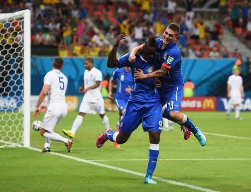 イングランド戦で決勝点のバロテッリ、FIFA発表のMOMに選出