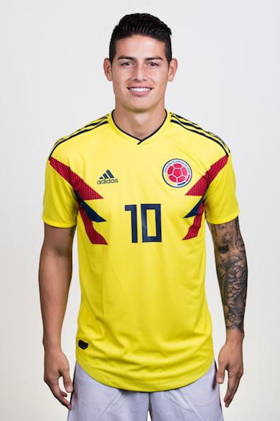 ハメス・ロドリゲス(コロンビア代表)のプロフィール画像
