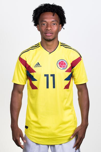 フアン・クアドラード(コロンビア代表)のプロフィール画像