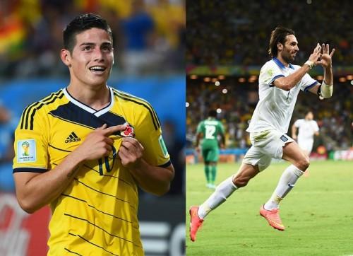 C組は3連勝のコロンビアが首位通過、2位ギリシャが初のベスト16