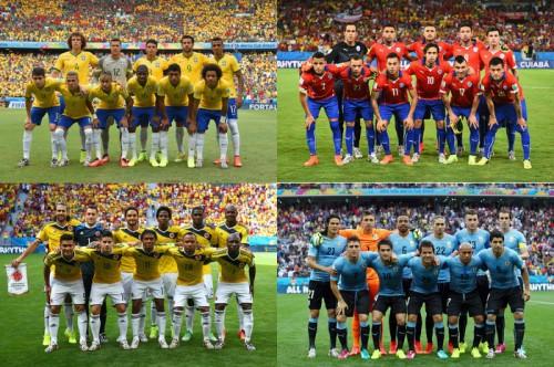 熱戦が繰り広げられるW杯、いよいよ決勝Tに突入…初日から激戦必至の南米対決が実現