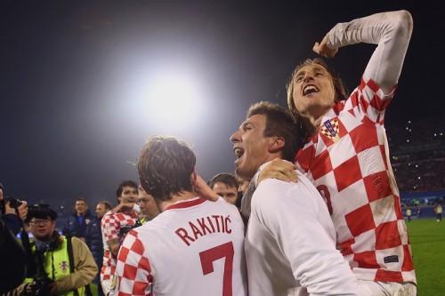 W杯でブラジルと同組クロアチア、23名メンバー発表…モドリッチら