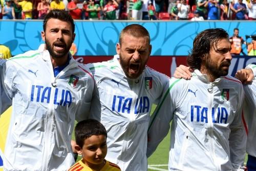 イタリア代表に暗雲…デ・ロッシが負傷でウルグアイ戦欠場か