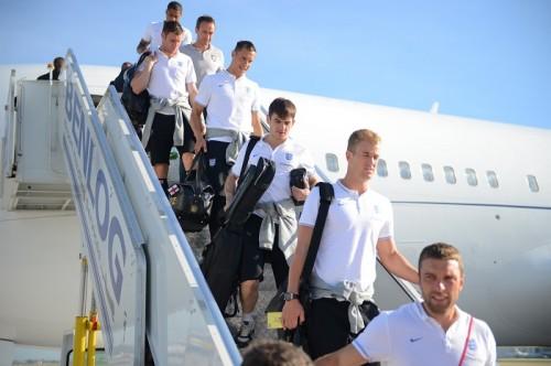 イングランド代表がW杯拠点のリオに到着、指揮官は準備期間に満足