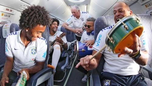 ブラジル代表、フォルタレーザ入り。コンフェデ杯と同じ地でメキシコと対戦へ