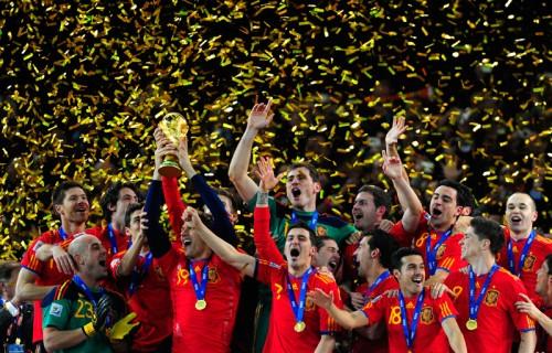 ブラジルW杯参加32カ国で1位…スペイン代表の優勝ボーナスは1億円
